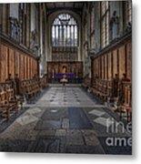 St Mary The Virgin Church - Choir And Altar Metal Print