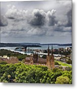 St Mary's Cathedral - Sydney Australia V2 Metal Print