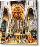 St Mary's Catholic Church - The Altar Metal Print
