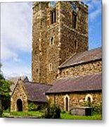 St Mary's Church Conway Metal Print