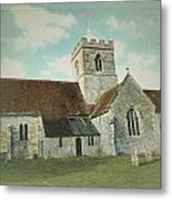 St Marys Church Dinton Wiltshire Metal Print