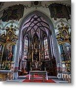 St. Maurice Church - Appenzell - Switzerland Metal Print
