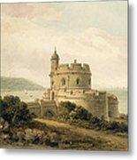 St Mawes Castle Metal Print