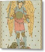 St Michael And All Angels By English School Metal Print