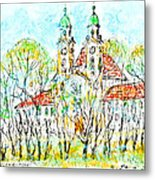 St. Michaeli Church In Munich Metal Print