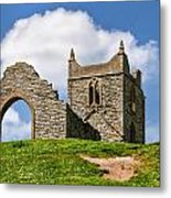 St Michael's Church - Burrow Mump 4 Metal Print