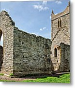 St Michael's Church - Burrow Mump 5 Metal Print