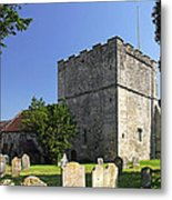 St Michael's Church - Shalfleet Metal Print