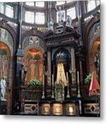St Nicholas Church Interior In Amsterdam Metal Print