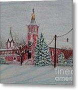 St. Nicholas Church Roebling New Jersey Metal Print