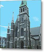St Patrick Cathedral Metal Print