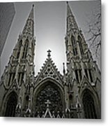 St. Patricks Cathedral  Metal Print by Angela Wright