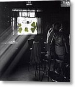 St. Patrick's Day At The Suffern Hotel Metal Print