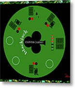 St. Patrick's Day Tournament - Featured In 'cards For All Occasions' Metal Print