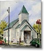 St. Paul Congregational Church Metal Print