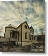 St. Pauls Anglican Church Metal Print by Priska Wettstein