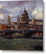 St. Paul's  Cathedral  - London Metal Print