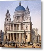 St Pauls Cathedral Metal Print