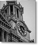St Pauls Clock Tower Metal Print