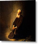 St. Peter In Prison, 1631 Metal Print