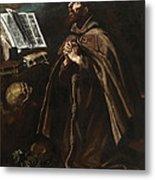 St Peter Of Alcantara Metal Print
