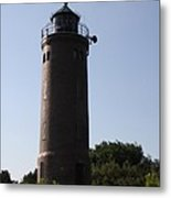St. Peter-ording Lighthouse - North Sea - Germany Metal Print