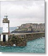 St Peter Port - Guernsey Metal Print