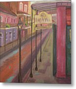 St. Peter Street Metal Print by Lilibeth Andre