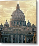 St Peter's Afternoon Glow Metal Print by Joan Carroll