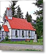 St Peters Anglican Church Metal Print