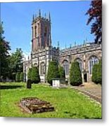 St Peter's Church - Tiverton Metal Print