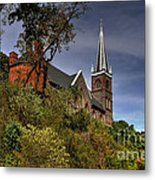 St. Peter's Of Harpers Ferry Metal Print by Lois Bryan