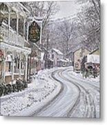 St Peters Village Snow 3 Metal Print