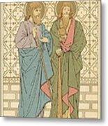 St Philip And St James Metal Print