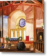 St. Raphaels - Early Morning Prayers Metal Print