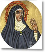 St. Rita Of Cascia Patroness Of The Impossible 206 Metal Print