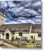 St Sannans Church Bedwellty 3 Metal Print