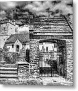 St Sannans Church Bedwellty 4 Mono Metal Print