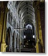 St. Severin Church In Paris France Metal Print
