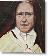 St. Therese Of Lisieux Metal Print