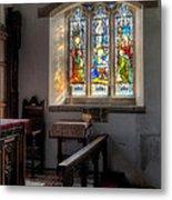St Tysilio Window  Metal Print