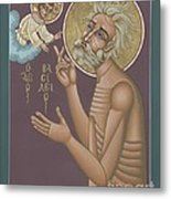 St. Vasily The Holy Fool 246 Metal Print