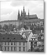St. Vitus Cathedral Prague Metal Print
