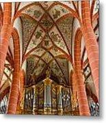 St Wendel Basilica Organ Metal Print