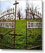 St. Xaviers Cemetery Metal Print