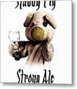 Stabby Pig Strong Ale Metal Print
