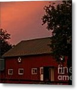 Stable Barn Metal Print