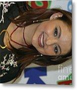 Singer Stacie Orrico Metal Print
