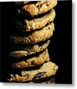 Stack Of Cookies Metal Print