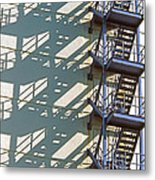 Stack Of Stairs Metal Print